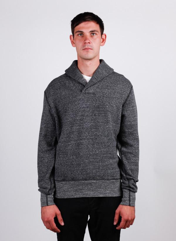 Men's National Athletic Goods Shawl Pullover Granite