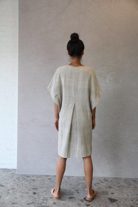ALOJA 11.11. MLEE Short Dress - Smoke