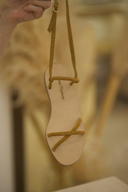 Anne Thomas Rachel Velvet Pony Sandal