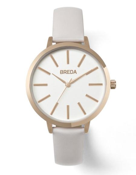 Breda Joule Watch Rose Gold Blush