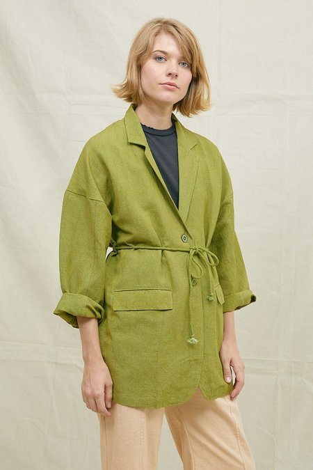 BACK BEAT RAGS Dylan Robe - Pistachio