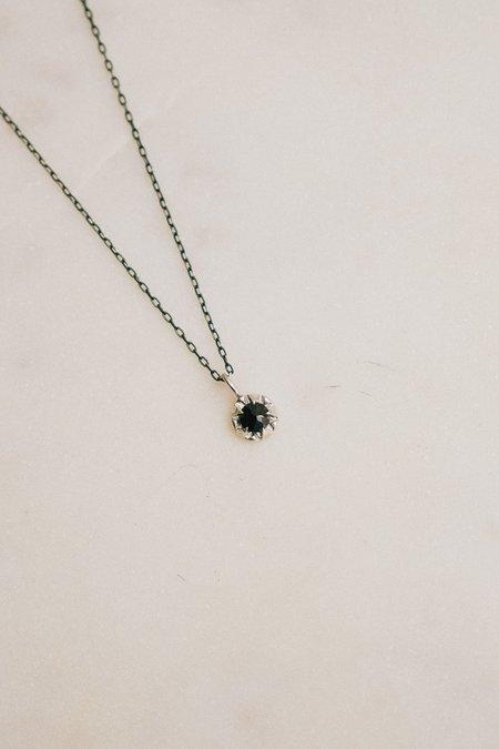 Allison Bartline Black Spinel Pulsar Necklace