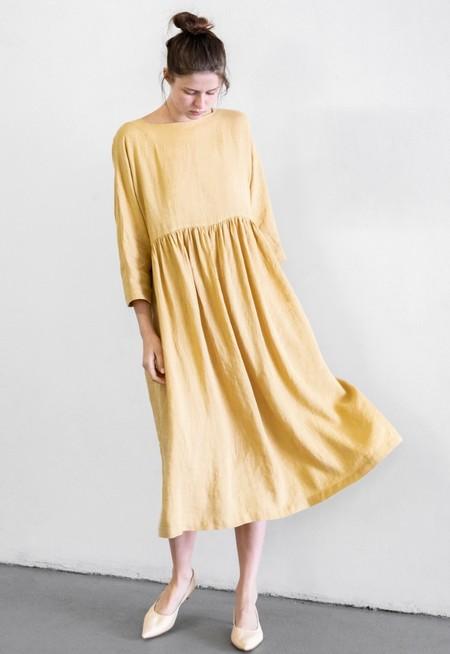 Black Crane Tradi Dress - Tan