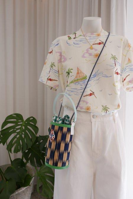 Heimat Atlántica Cupid Bag with Talismán - Blue