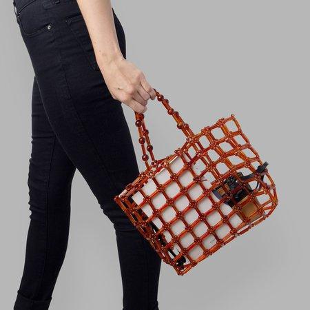 Poketo Rachel Beaded Bag - Amber