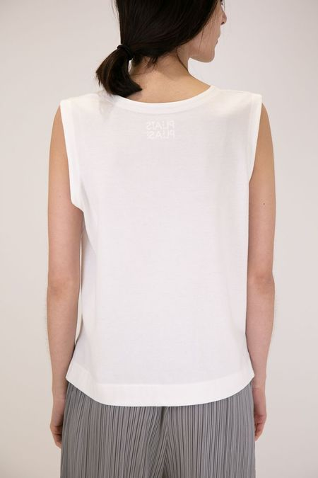 Issey Miyake Pleats Please Easy T Shirt - White