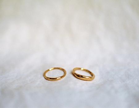 Kelci Potter Thin Essential Stacker Ring - 14K Gold