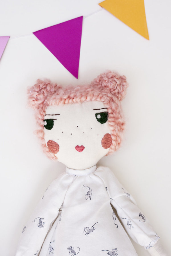 Polka-Dot Peanut Parade friends forever doll - rosie