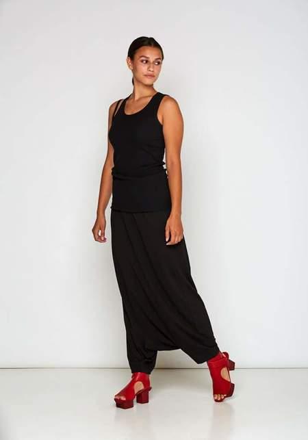 Rundholz Extreme Drop Jersey Pant - Black