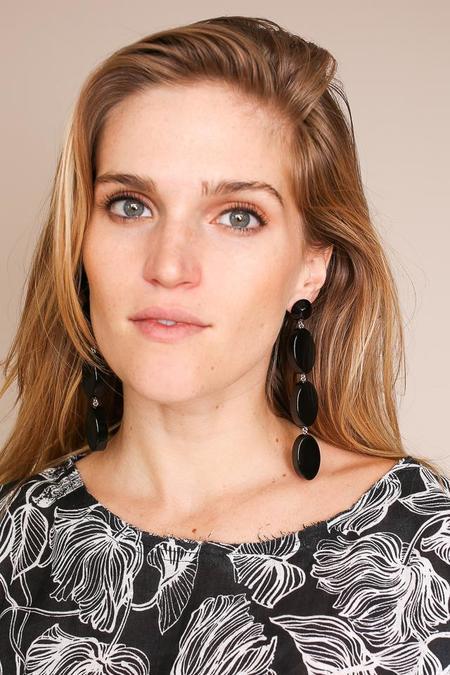 Rachel Comey Bond Earring - Black