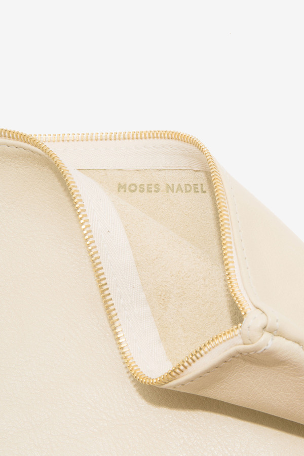 moses nadel Pouch Medium Cream