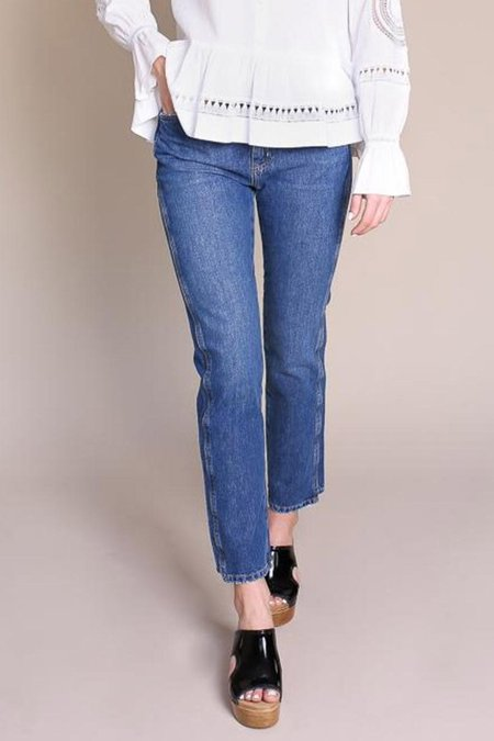 MiH Jeans Cult Mid-rise Jean - Unwash