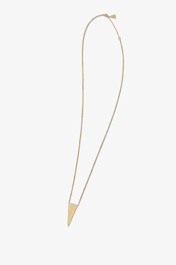 Reversible Cone Pendant - Gold
