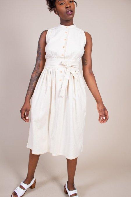 Warm Montessori Dress - Cream