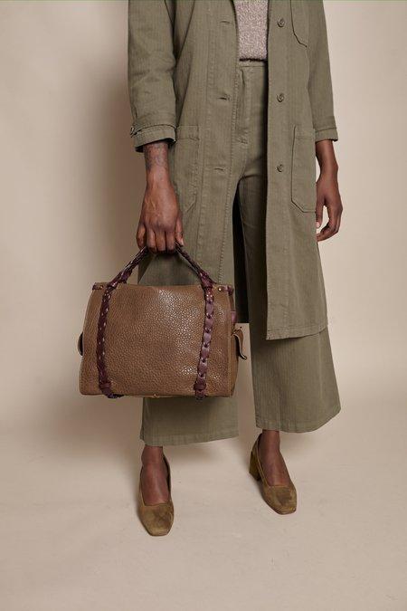 Jerome Dreyfuss Yannick Handbag - Bronze