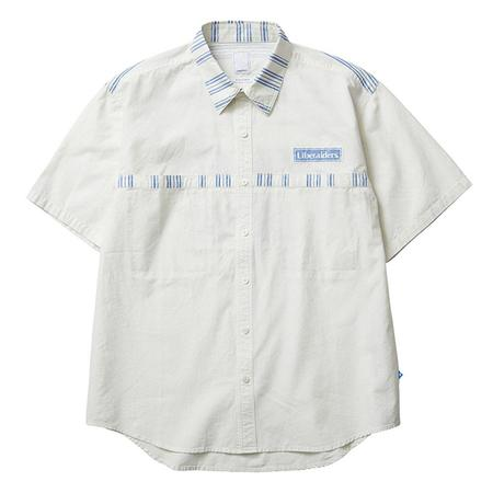 Liberaiders Destination Unknown Short Sleeve Shirt - White