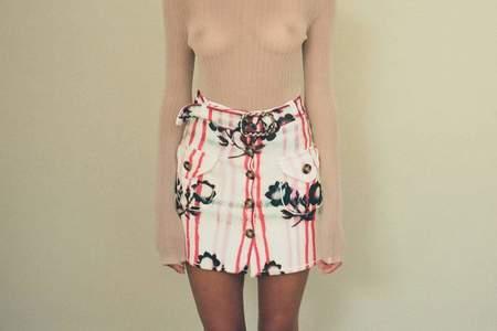 Cormio Trachten Tricot Skirt