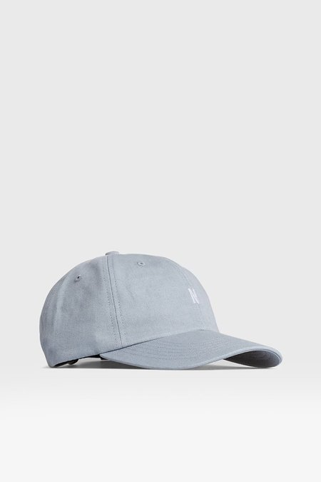 Norse Projects Twill Sports Cap - Dust Blue