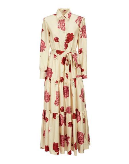 La Double J Bellini Dress - Ortensia Print