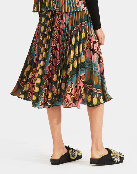 La Double J Soleil Skirt - Rio Verde