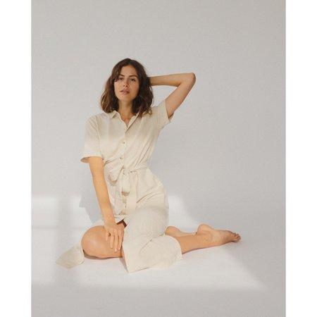 St.Agni Cecile Dress - Ivory