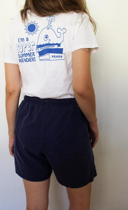 Vintage Lounge Shorts - Navy