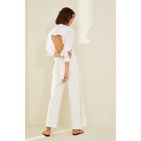 Piece of white Carla Shirt - white