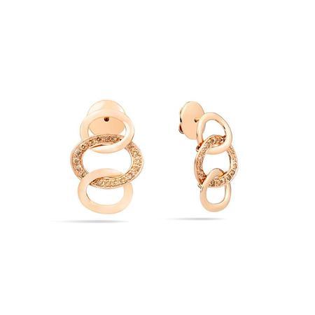 Pomellato Brera Diamond Earrings - 18K Rose Gold