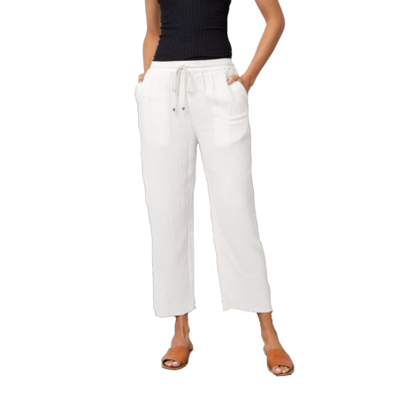 Rails Agnes Trouser - White