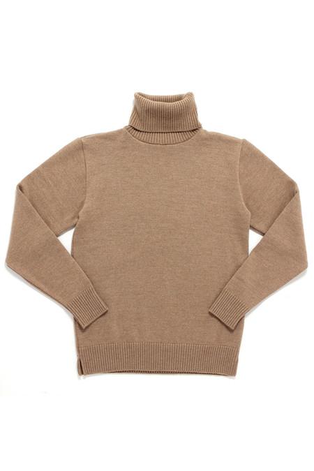 Outclass Knit Turtleneck | Camel