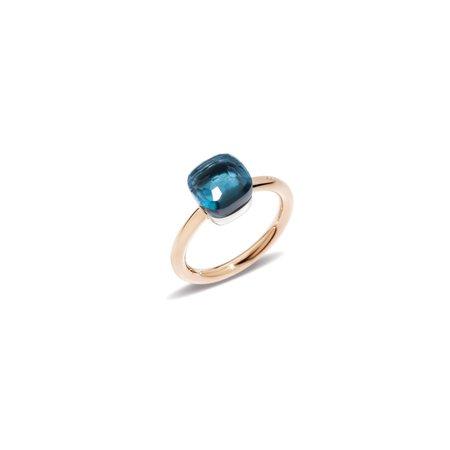 Pomellato Mini Nudo Ring - Blue London Topaz