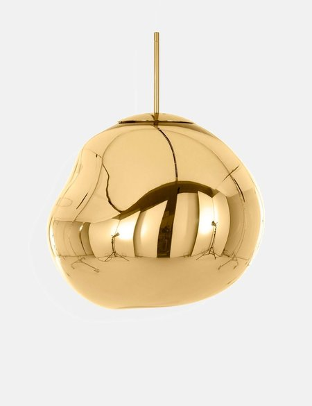 Tom Dixon Melt Pendant LED Light  - Gold