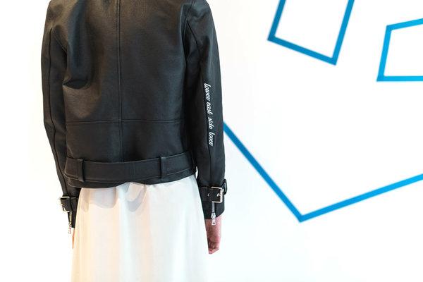 Sandy Liang Delancey Moto Jacket