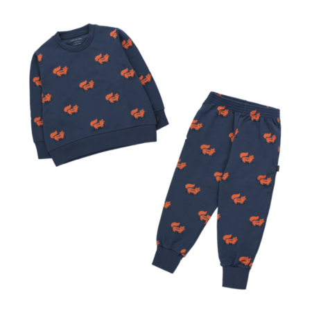 Kids Tinycottons Foxes Sweatshirt