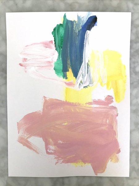 Genevieve Allen ICE CREAM SOUP Painting