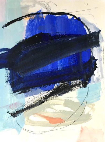Genevieve Allen NIGHT SWIM Painting
