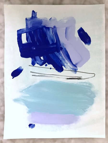 Genevieve Allen WATERPARK Painting
