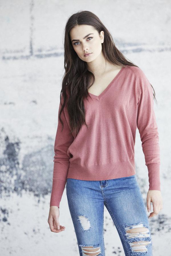 Callahan V Neck Boyfriend Sweater