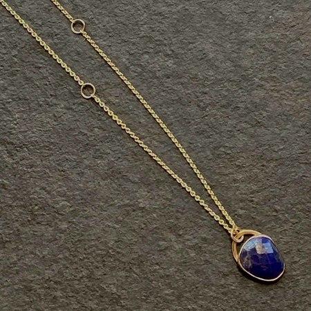 Jane Hollinger Lapis Lazuli Necklace - 14k Yellow Gold