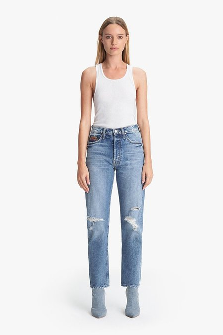 Mother Denim Tomacat Ankle Jeans - Take Me Even Higher