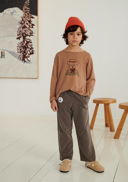Weekend House Kids Gondolier Long Sleeve - Camel
