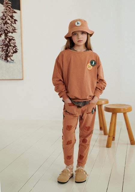 Weekend House Kids Peggy 2 Sweat Shirt - Brick