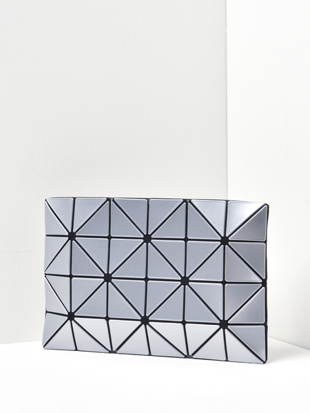 Bao Bao Issey Miyake Lucent Clutch - Silver