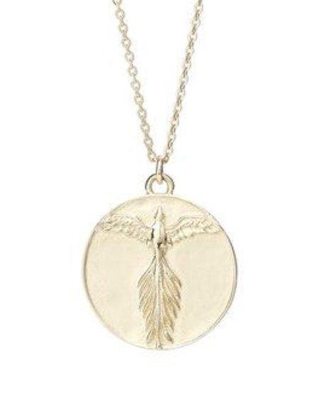 Talon Phoenix Medallion Necklace
