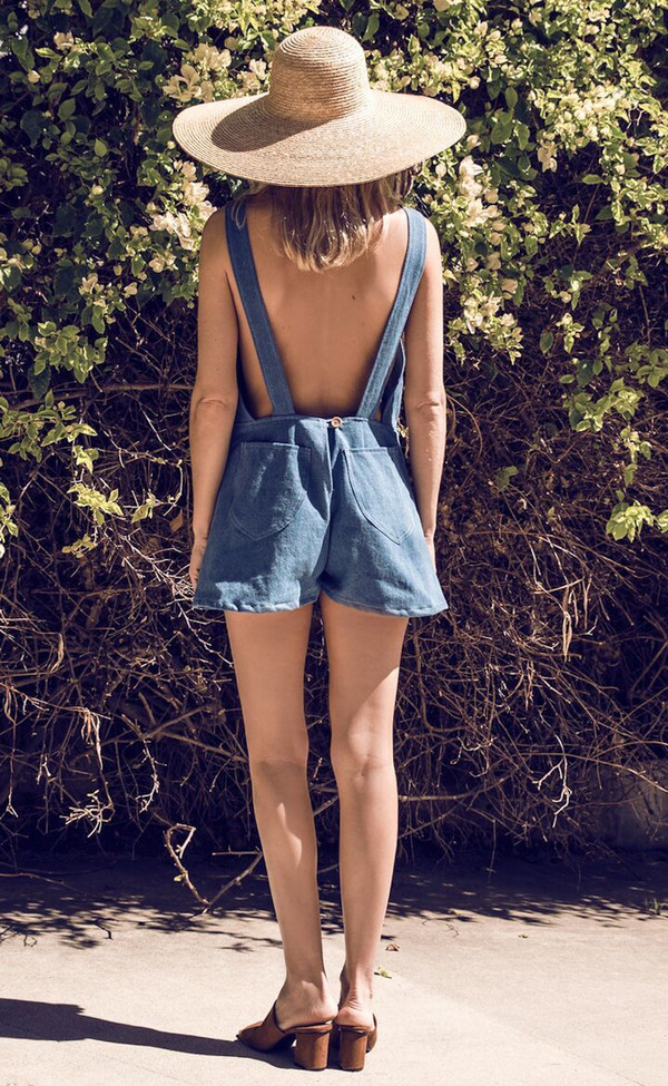 Lykke Wullf Clare Shorts Overalls