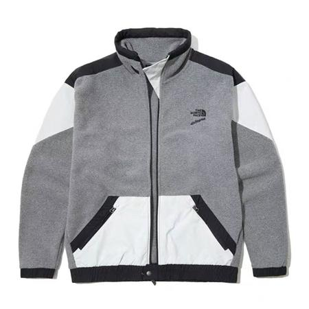 THE NORTH FACE 90 Extreme Fleece FZ Jacket - Medium Grey Heather Combo