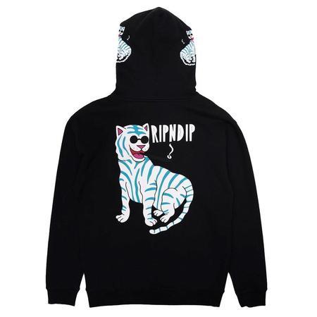 RIPNDIP Cool Hat Hoodie sweater - Black
