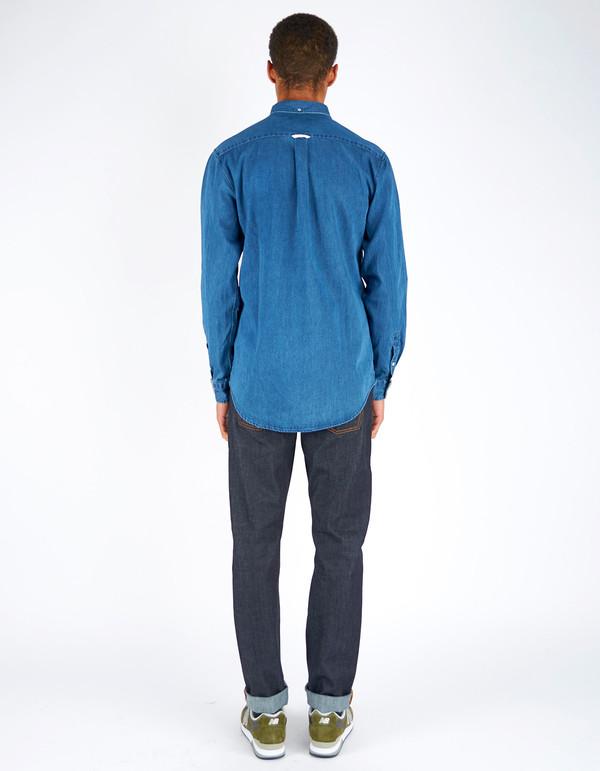 Men's Assembly Label Endless Denim Shirt Dark Denim