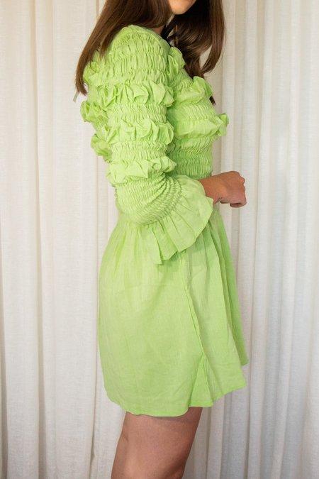 Tach Clothing Capri Smocked Cotton Dress