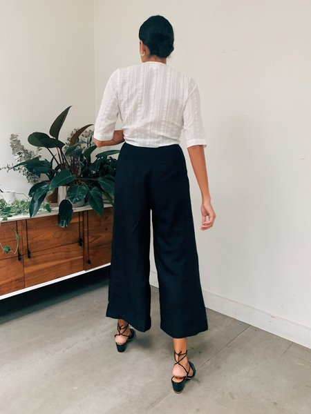 First Rite Pleated Trouser